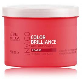 Wella Professional Invigo Brilliance kaukė šiurkštiems dažytiems plaukams