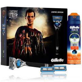 Gillette Justice League Superman (Limited Edition) skutimosi priemonių rinkinys vyrams