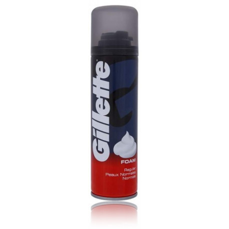 Gillette Shave Foam Classic skutimosi putos vyrams 200 ml.