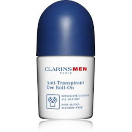 Clarins Men Antiperspirant Deo Roll-On rutulinis dezodorantas vyrams 50 ml.
