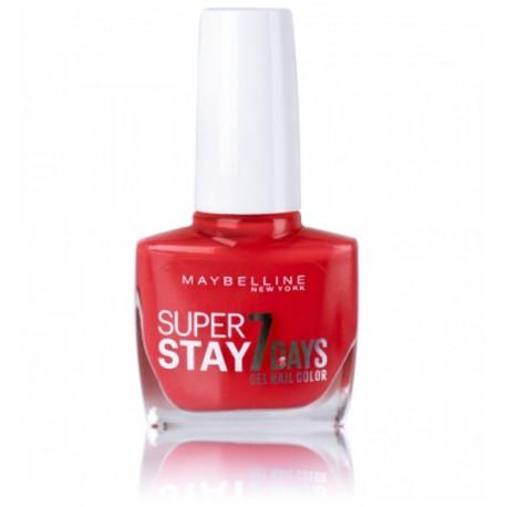 Maybelline Super Stay 7 Days nagų lakas 10 ml. 490 Hot Salsa