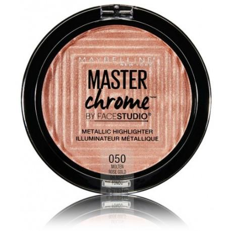 Maybelline Master Chrome švytėjimo suteikianti priemonė 050 Molten Rose