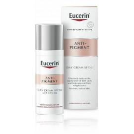 Eucerin AntiPigment SPF 30 dieninis kremas nuo pigmentinių dėmių susidarymo 50 ml.