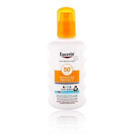 Eucerin Sun Kids Sensitive Protect SPF50+ purškiklis nuo saulės vaikams 200 ml.