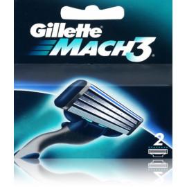 Gillette Mach3 skustuvo galvutės 2 vnt.