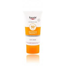 Eucerin Sun Sensitive Protect Sun Creme SPF 50+ kremas nuo saulės 50 ml.