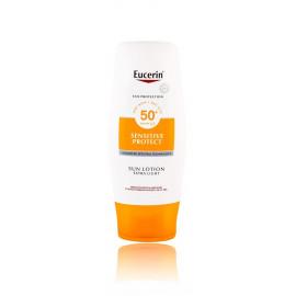 Eucerin Sun Sensitive Protect Sun Lotion SPF 50+ kūno losjonas nuo saulės 150 ml.