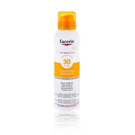 Eucerin Sun Sensitive Protect Sun Spray Dry Touch SPF 30 purškiklis nuo saulės 200 ml