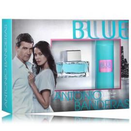 Antonio Banderas Blue Seduction rinkinys moterims (80 ml. EDT + dezodorantas)