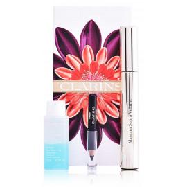 Clarins Supra Volume Mascara gift set rinkinys akims (tušas+ valiklis+ pieštukas) 18,39 ml.
