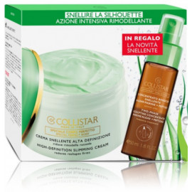 COLLISTAR High-Definition Slimming Cream liekninamasis kūno kremas 400 ml + koncentratas 50 ml