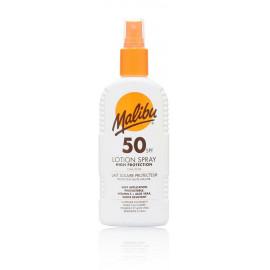 Malibu Lotion Spray SPF 50 purškiamas losjonas nuo saulės 200 ml