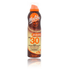 Malibu Continuous Spray Dry Oil SPF 30 purškiamas losjonas nuo saulės 175 ml