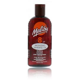 Malibu Bronzing Tanning Oil SPF 8 apsauginis aliejus skatinantis greitesnį įdegį 200 ml