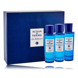 Acqua di Parma Blu Mediterraneo Collection rinkinys vyrams ir moterims 3 x 30 ml. EDT