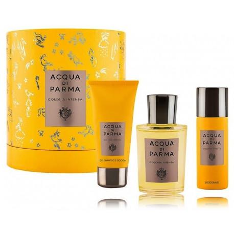 Acqua di Parma Colonia Intensa rinkinys vyrams (100 ml. EDC + gelis + dezodorantas)