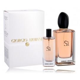 Giorgio Armani Si rinkinys moterims (100 ml. EDP + 15 ml. EDP)