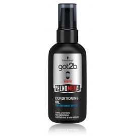 Schwarzkopf got2b PhenoMENal Conditioning Oil aliejus barzdai vyrams 75 ml.