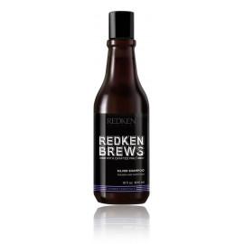 Redken Brews Silver šampūnas pilkiems ir baltiems plaukams (vyrams) 300 ml