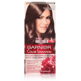 Garnier Color Sensation Intense Permanent Colour Cream ilgalaikiai plaukų dažai 6.12 Diamond Light Brown