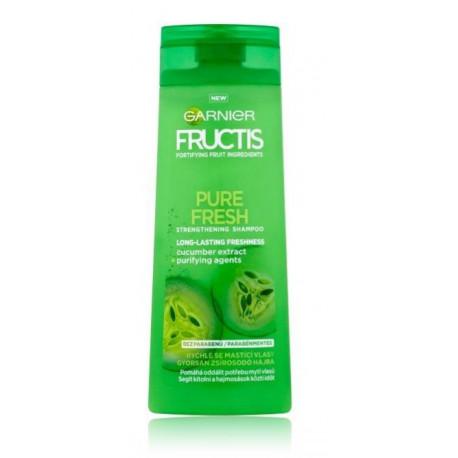 Garnier Fructis Pure Fresh Shampoo šampūnas riebiai galvos odai 250 ml.