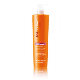 Inebrya Ice Cream Color kondicionierius dažytiems plaukams 300 ml.