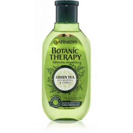 Garnier Botanic Therapy Green Tea & Eucaliptus & Citrus šampūnas riebiai galvos odai 250 ml.