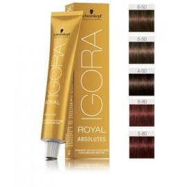Schwarzkopf Professional IGORA Royal Absolutes profesionalūs plaukų dažai 60 ml.