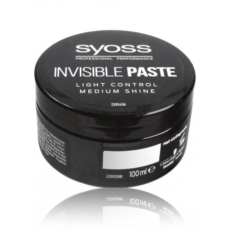 Syoss Paste Invisible Plaukų Modeliavimo Pasta 100 Ml