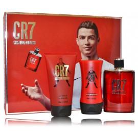 Cristiano Ronaldo CR7 rinkinys vyrams (100 ml. EDT + dušo gelis 150 ml. + balzamas po skutimosi 100 ml.)