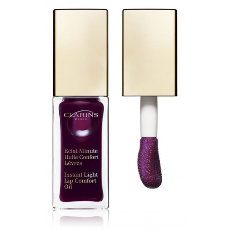 Clarins Eclat Minute Instant Light Lip Comfort Oil aliejus lūpoms su atspalviu