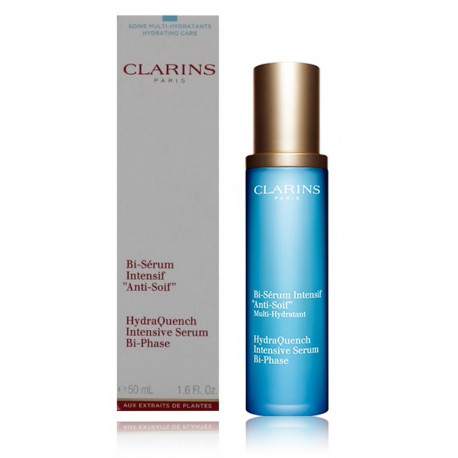 Clarins Hydra Essentiel Bi-Phase drėkinamasis veido serumas 50 ml.