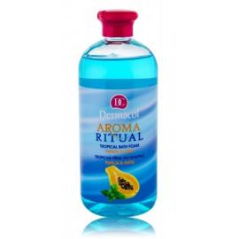 Dermacol Aroma Ritual Bath Foam Papaya & Mint vonios putos 500 ml.