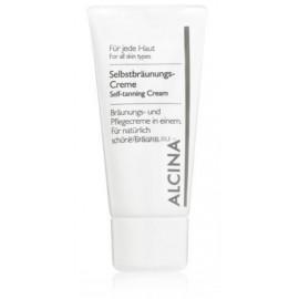 Alcina Self-Tanning Cream savaiminio įdegio kremas 50 ml.