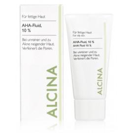 Alcina AHA Facial Fluid 10% valomasis veido fluidas 50 ml.