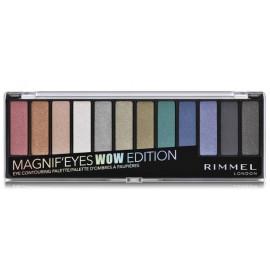 Rimmel Magnif Eyes akių šėšėlių paletė 7 g. Spalva 006 Wow Glitter