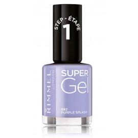 Rimmel Super Gel Nail Polish nagų lakas 12 ml. 082 Purple Splash