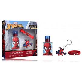 Marvel Spiderman rinkinys berniukams (30 ml. EDT + raktų pakabukas + apyrankė)