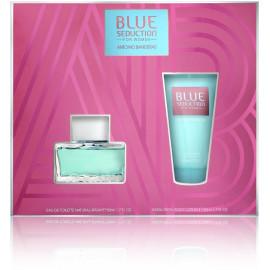 Antonio Banderas Blue Seduction rinkinys moterims (50 ml. EDT + 50 ml. kūno losjonas)