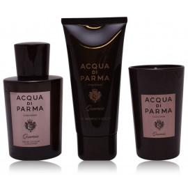 Acqua di Parma Colonia Qercia rinkinys vyrams (100 ml. EDC + 75 ml. dušo gelis + 65 g. žvakė)