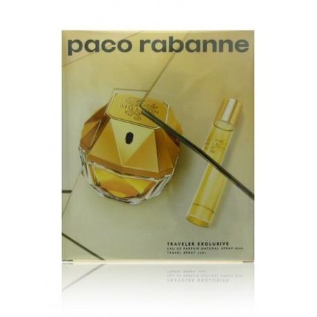 Paco Rabanne Lady Million rinkinys moterims (80 ml. EDP + 20 ml. EDP)