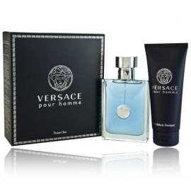 Versace pour Homme rinkinys vyrams (100 ml. EDT + 100 ml. dušo gelis)