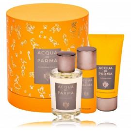 Acqua Di Parma Colonia Pura rinkinys vyrams ir moterims (100 ml. EDC + 75 ml. dušo gelis + 50 ml. dezodorantas)