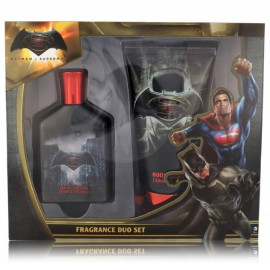 DC Comics Batman v Superman rinkinys vaikams (75 ml. EDT + dušo gelis 150 ml.)