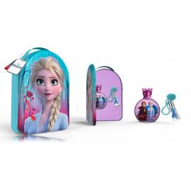 Disney Frozen II rinkinys mergaitėms (100 ml. EDT + lūpų balzamas 6 ml. + kuprinė)