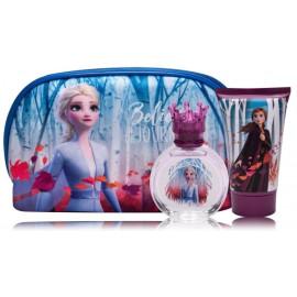 Disney Frozen II rinkinys mergaitėms (50 ml. EDT + 100 ml. dušo gelis + kosmetinė)