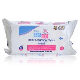 Sebamed Baby Cleansing Wipes drėgnos servetėlės kūdikiams 72 vnt.