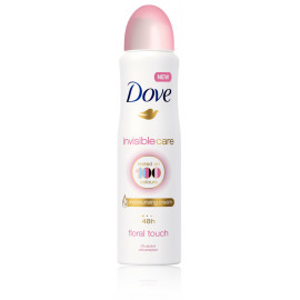 Dove Invisible Care Floral Touch purškiamas antiperspirantas 250 ml.
