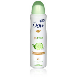 Dove Go Fresh Cucumber & Green Tea purškiamas antiperspirantas 150 ml.