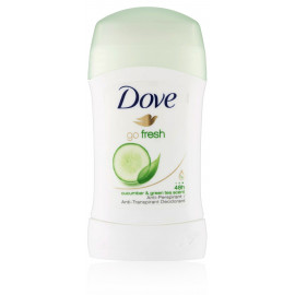 Dove Go Fresh Cucumber & Green Tea pieštukinis antiperspirantas 40 ml.